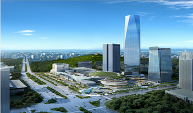 Dong Guan the Most Highest Office Building-