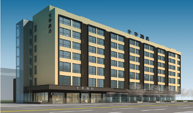 Hotel Building with 60% Decoration Done on Sale Surprisingly Competitive Near Metro Exit