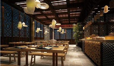 Restaurant near business circle with huge consumer groups for sale in China
