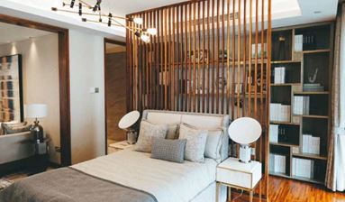 New Apart Hotel Building inside AAAA Tourism Spot in Shanghai