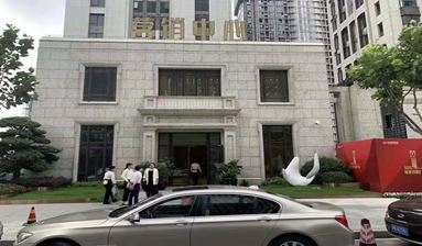 A luxury detached commercial building for sale in Shanghai, China