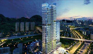 Office or Apartment of JINDI Century, OCT Area to Have Top Life