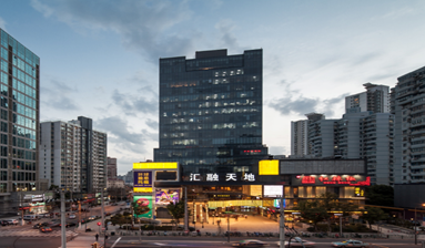 Office near upscale shopping center, exhibition center, banks for sale in China