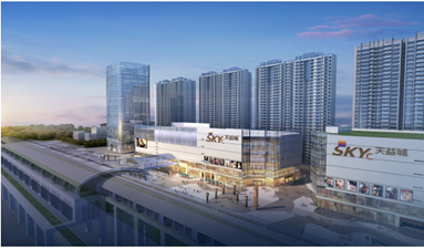 New Shops in Huizhou Super Shopping Mall for sale with Highly popularity