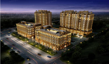Office in business mansion in core area of Hongqiao Business Zone in China